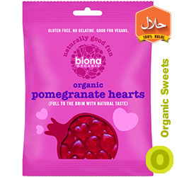 Biona-Organic-Pomegranate-Hearts Organic Vegan Sweets