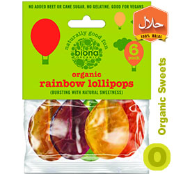 organic lollipops rainbow biona organic