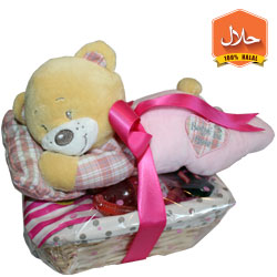 gummy box sweets Halal sweet gift hamper for mummy and baby