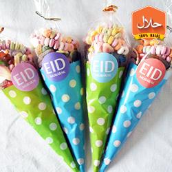 large sweet cones mini small medium sweet cones
