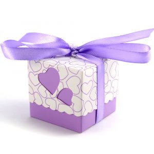 wedding valentine gift favour box