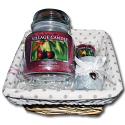 candle gift set hamper village candle like yankee candle