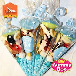 halal sweet cones