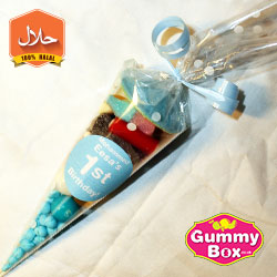 mini sweet cones halal