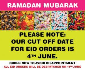 Eid Orders Deadline Banner