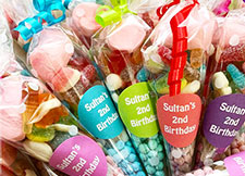 halal medium sweet cones