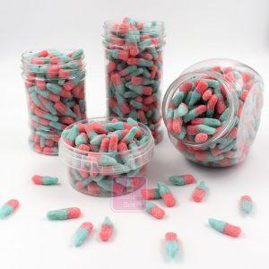 Bubblegum Flavoured Bottles Jars